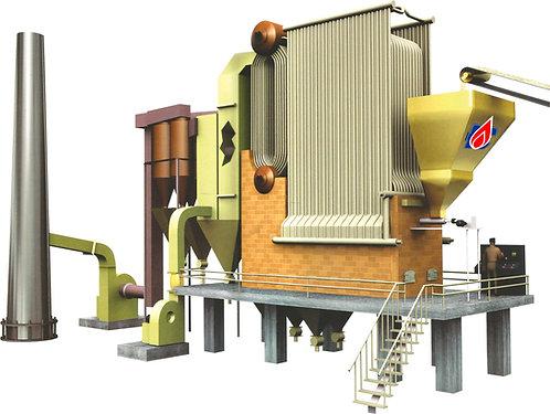 CGBFB steam boiler