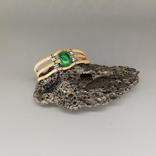 Bracelet Céramik Triple Vert Emeraude
