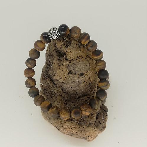 Bracelet Oeil de Tigre Mat