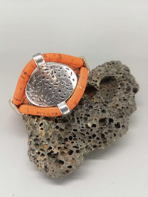 Bracelet Antik Cordon Liège Fauve