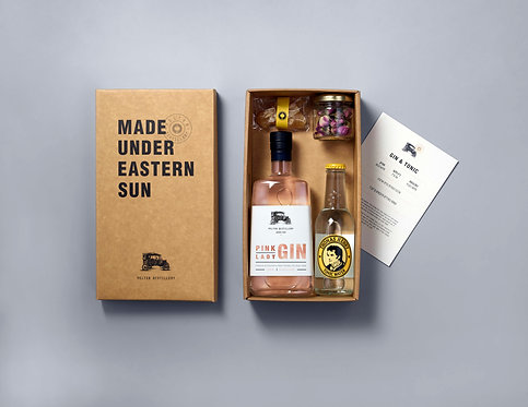 Barrel aged gin and tonic kit