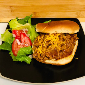 Sloppy Joes with and Asian Twist