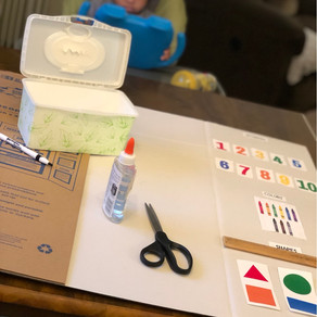 #momhacks – Learning Boards for Toddlers