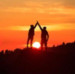 bigstock-Teamwork-Couple-Celebrating-Si-