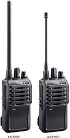 Icom F3001_F4001Two-Way Radio