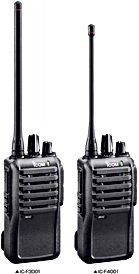 Icom F3001_F4001Two-Way Radio