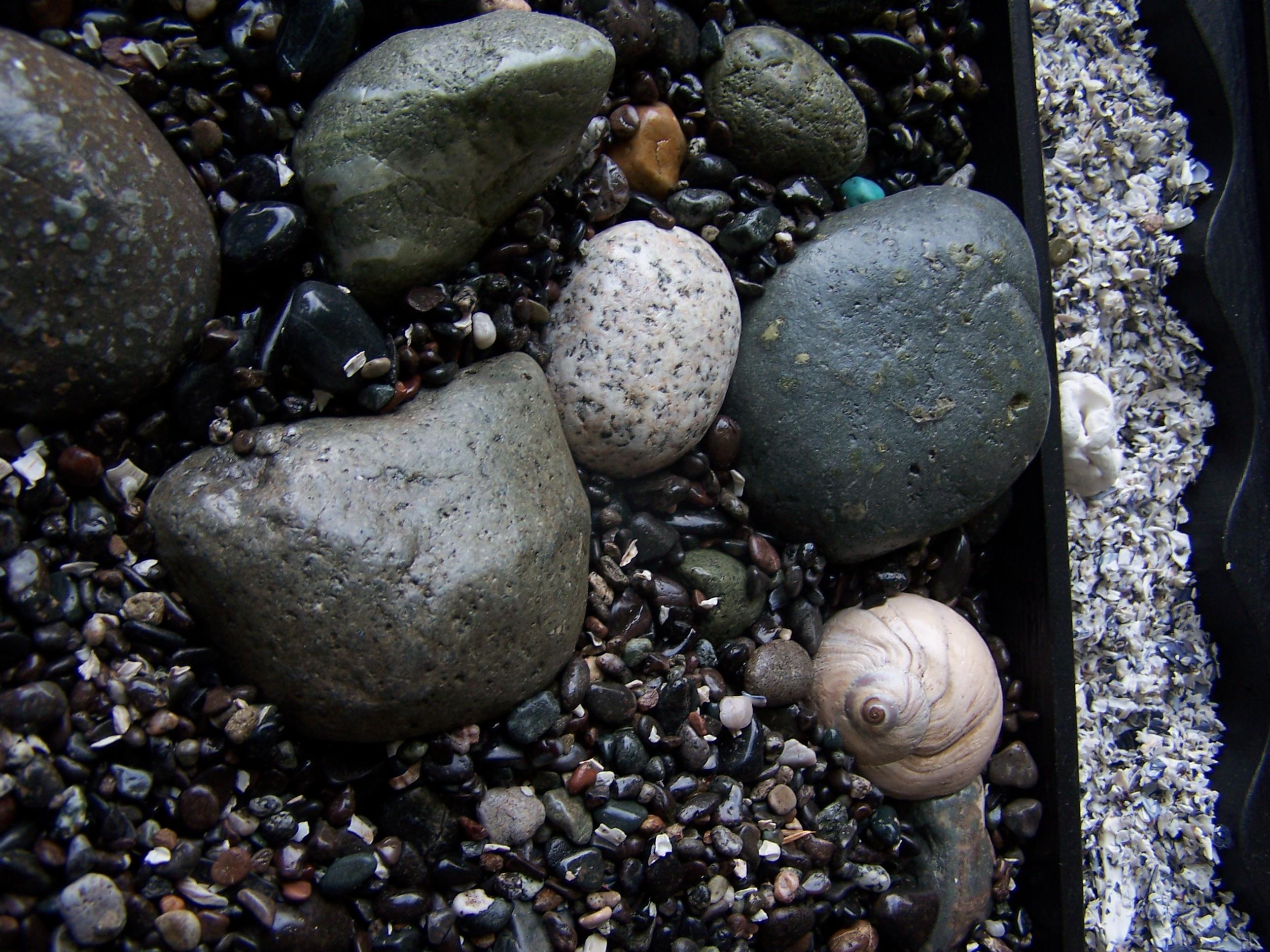 Stone Beach 29 x 29 in