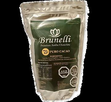 Chocolate Orgánico  75% cacao