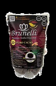 Chocolate negro 55% cacao