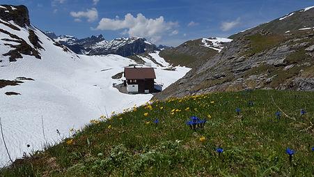 Glattalp Berggasthaus Schweiz