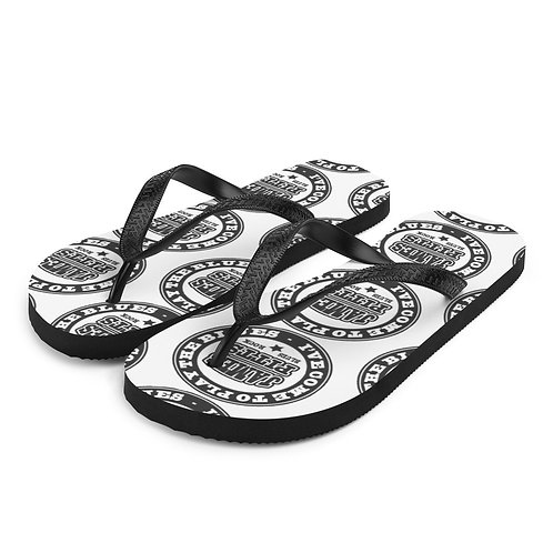 Come To Play The Blues Flip Flops