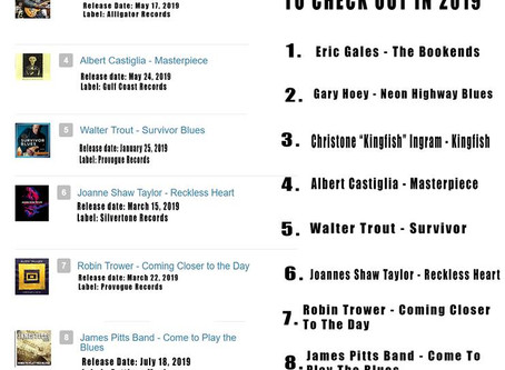 New CD makes the TOP TENS!