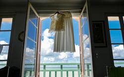 Présentation de la robe de mariée