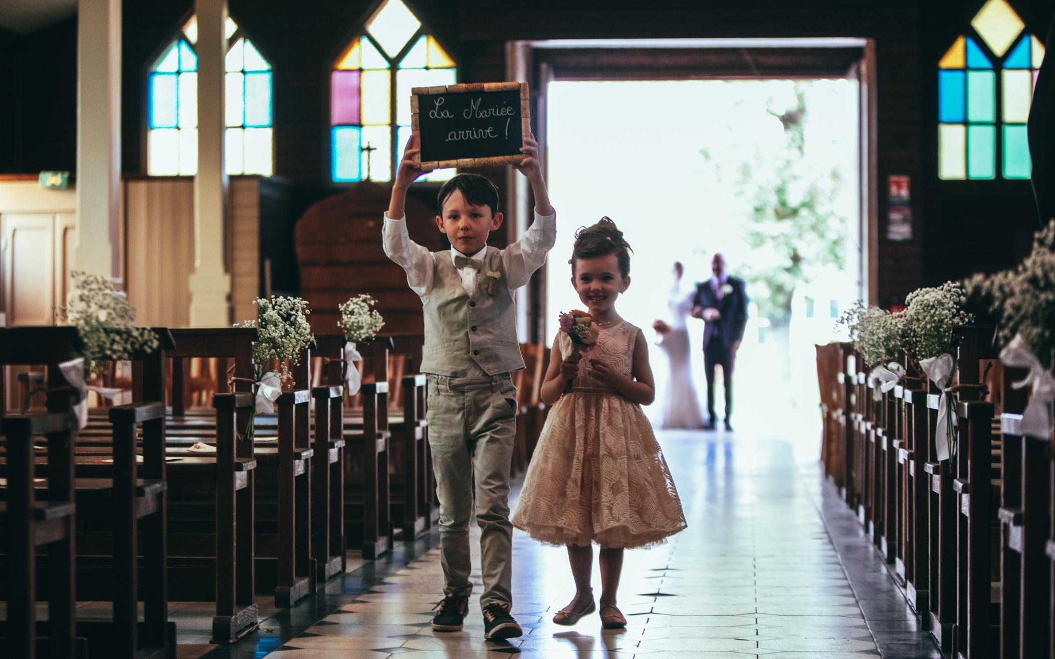 Les enfants d'honneur