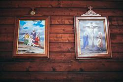 Photos dans l'église