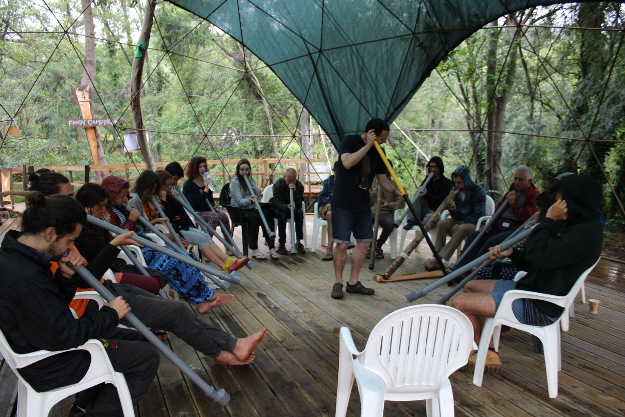 relaxvibration workshop didgeridoo portu