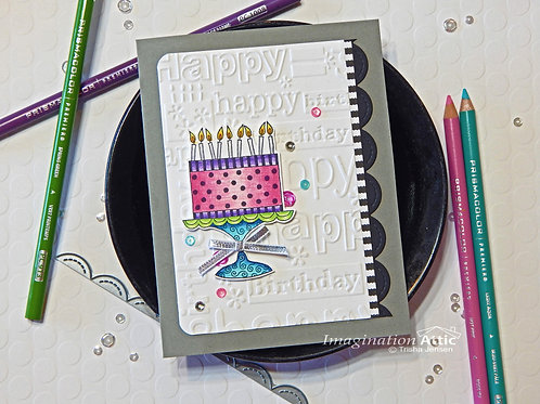 Whimsical Birthday Greeting Card