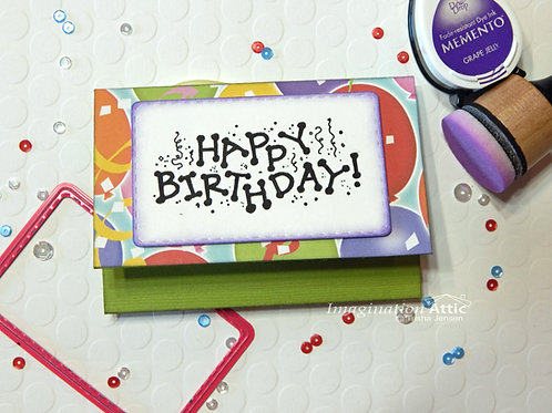 HAPPY BIRTHDAY! Gift Card Holder