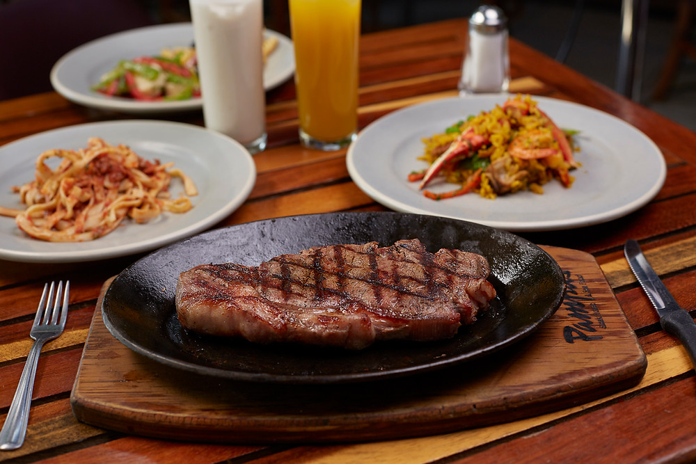 Carne, corte, receta, New York