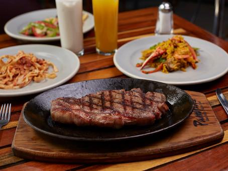 Prepara un sabroso New York como el del buffet de Restaurante Pampas