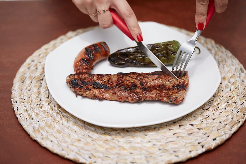 arrachera carne cortes parrilada carne asada