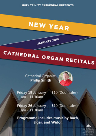 New Year Cathedral Organ Recitals