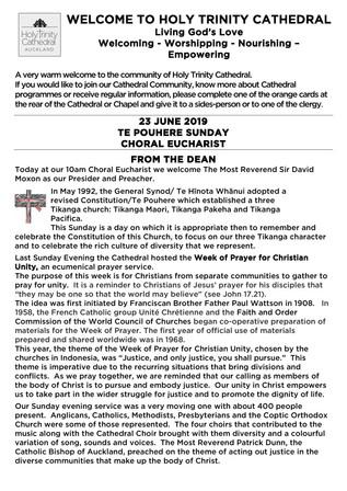 Newsletter 23 June