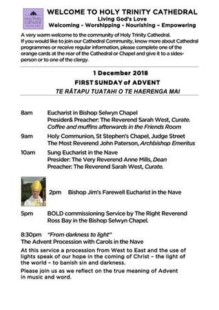Newsletter 1 December
