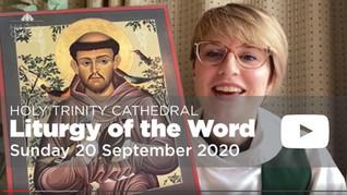 Liturgy of the Word - 10am Sunday 20 September