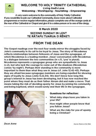 Newsletter 8 March