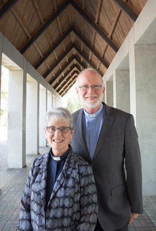 The Rev'd Diane Miller-Keeley and The Rev'd Bruce Keeley  PRIESTS-in-CHARGE