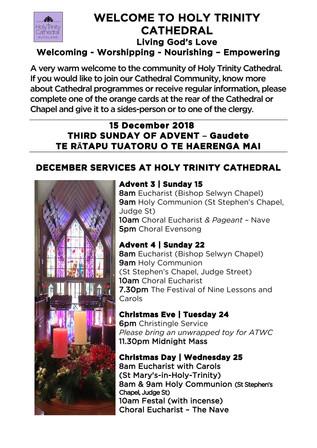 Newsletter 15 December