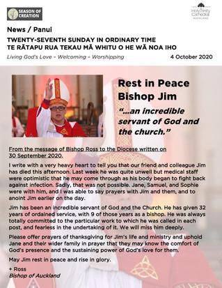 Newsletter - Sunday 30 October