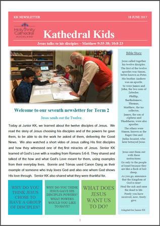 Kathedral Kids Newsletter 18 June 2017