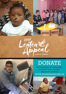 Anglican Missions Lenten Appeal 2018