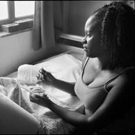 Shadia, infirmière à domicile, La Louvière, 2015
