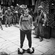 Dans la vieille ville de Jérusalem, 2018