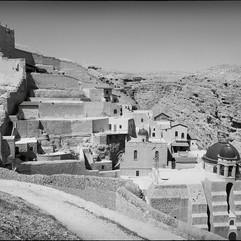 Le monastère de Mar Saba, fondé au 5e siècle dans le désert de Judée, à quelques kilomètres de Bethléem.