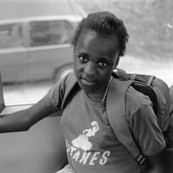 Retour de l'école.  Centre de la Croix-Rouge, Yvoir, 1995