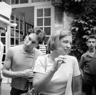 Fred Baldwin et Wendy Watriss, hôtel Arlatan, 1984