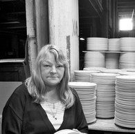 Dominique, faïencerie Royal Boch, La Louvière, 2009