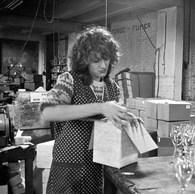 Emballage, verreries VERENO, Manage, 1982