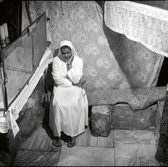 La Mangeoire dans la grotte de la Nativité