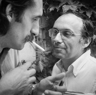 Gilles Mora et Luigi Ghirri, 1982