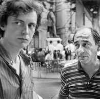 François Hebel et Jean-Louis Chabassud (Festival Off),1985