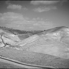 La route destinée aux Palestiniens entre Jérusalem et Bethléem