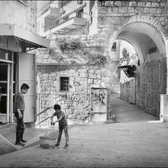 Dans les rues de Beit Sahour.