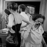 Yvette Troispoux à l'hôtel Arlatan, 1986