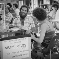 Raymond Viallon de la Galerie Vrais Rêves, 1982
