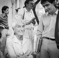 Jacques-Henri Lartigue et Christian Caujolle, 1982